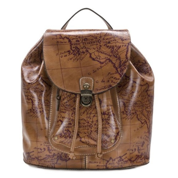 Patricia Nash Bags   Casape Backpack Signature Map   Poshmark b6dbd0df90